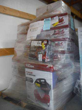 South Carolina : Pallets of Merchandise @ Wholesale
